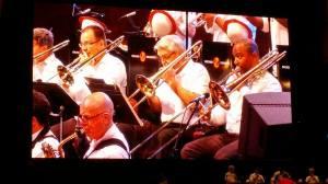 Chicago Jazz Orchestra Trombones, September 2015